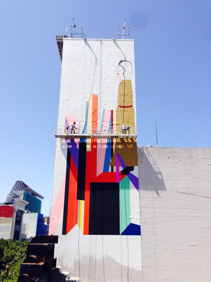 Clare Rojas and the 509 Cultural Center Bring Monumental Mural to Market Street